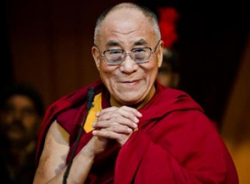 H.H. Daila Lama in Nederland - Symposium 'Education of the Heart op  12 mei 2014